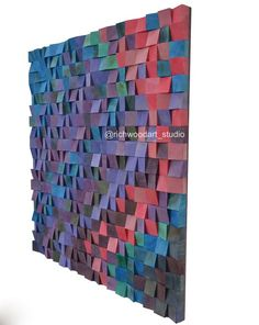 Unique wood wall art Just Music Magic Abstract geometric wall painting Mid century modern wall art Bedroom wall decor Wood sculpture Wood Sculpture, Wall Sculptures, Wooden Wall Art, Wood Wall, Geometric Wall Paint, Acoustic Design, Reclaimed Wood Art, Wood Mosaic, Art Drawings For Kids