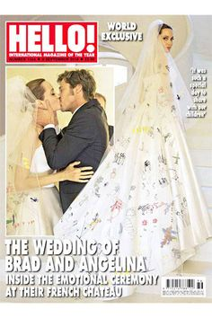 Angelina Jolie's Wedding Dress, Revealed