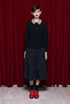 Moschino Cheap And Chic Pre-Fall 2013 Fashion Show - Amra Cerkezovic