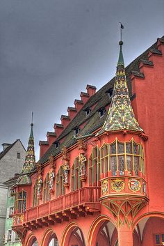 An Ambassador of the Architecture School in the World, Freiburg - Germany. Places Around The World, Oh The Places You'll Go, Places To Visit, Around The Worlds, Visit Germany, Germany Travel, Dream Vacations, Vacation Spots, Amazing Architecture