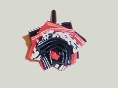 Black/Zebra/Red Duct Tape Flower Pen by FlowerPensAndMore on Etsy, $6.99