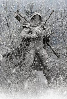 Techno Camouflage.