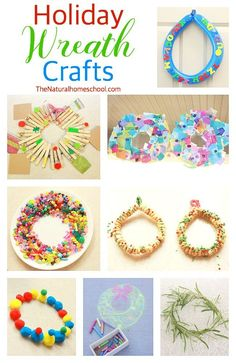History of the Wreath & Holiday Wreath Crafts {Free Printables} - The Natural Homeschool - Winter break humor,Winter break college,Winter break quotes Kids Crafts, Christmas Crafts For Kids To Make, Toddler Crafts, Holiday Crafts, Christmas Holidays, Christmas Ideas, Winter Holidays, Holiday Ideas, Preschool Christmas Activities