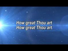 How Great Thou Art By Alan Jackson With Lyrics Christian