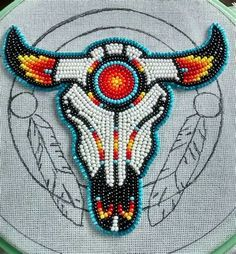 loom beading tutorial Source by You may feel that the history of handcr Native American Patterns, Native American Regalia, Native American Crafts, Native American Design, Native American Beadwork, American Indian Art, Native Beading Patterns, Beadwork Designs, Seed Bead Patterns