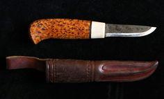 Kniv i masur och horn av Kaj Embretsen på Tradera.com - Knivar från