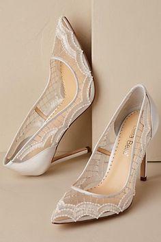 Nadia Scallop Heels