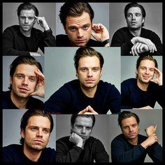 The many beautiful faces of Sebastian Stan