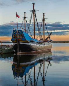 Immigrant ship Hector Pictou Nova Scotia Canada. More pics from Nova Scotia at this link: http://roadslesstraveled.us/nova-scotia-northumberland-shore-pictou-antigonish/