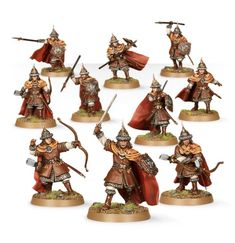 ::rather overlooked, the Warriors of Dale would make great soldiers for a variety of wizards:: Warriors of Dale