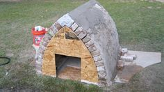 'The Dog House'...Gothic Arch before the form is removed