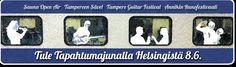 Lauantaina 8.6.2013 Helsingistä lähtevällä ohjelmallisella Tapahtumajunalla pääsee suoraan keskelle Tampereen festivaalikesää. Neljä samana päivänä päätapahtumaansa viettävää tamperelaisfestivaalia kattavat tarjonnallaan raskaan rockin, kuoromusiikin, runouden ja kitaramusiikin.    Genrerajat ylittävässä yhteistyössä ovat mukana Sauna Open Air, Tampereen Sävel, Tampere Guitar Festival ja Annikin Runofestivaali. Festivaalitunnelmaan pääsee jo junassa, jossa on tarjolla monipuolista ohjelmaa.