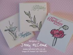 Stampin Up Simply Sketched hostess set Very pretty Set of note cards & matching box By Jemini Crafts: