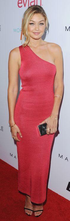 Gigi Hadid won Model of the Year at the Daily Front Row fashion awards.