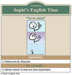 Vocabulário: Never mind