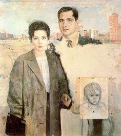 Emilio y Angelines Antonio López García Pintor Español Ciudad de la pintura - La mayor pinacoteca virtual