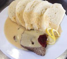Denné menu Vranov | Hovädzia sviečková na smotane, kysnutá knedľa - reštaurácia Hotel Patriot*** #HovadziaSvieckova