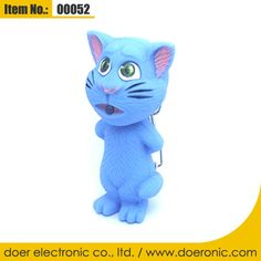 Talking Tom Cat Keychain Flashlight with Sound | Doer Electronic the Animals Novelty Gadgets Supplier from China, Welcome to the World of Animals Fun.