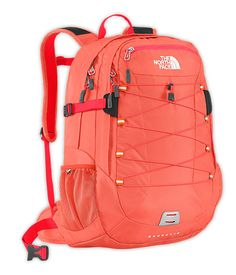 The North Face Women's Borealis Daypack, Ember Glow Orange The North Face, North Face Bag, North Face Women, North Faces, Cute Backpacks For School, Girl Backpacks, Backpack For Teens, Backpack Bags, Adidas Backpack