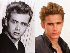 More Biopic Actors and Their Real-Life Counterparts - My Modern Metropolis  James Dean (James Franco in James Dean)