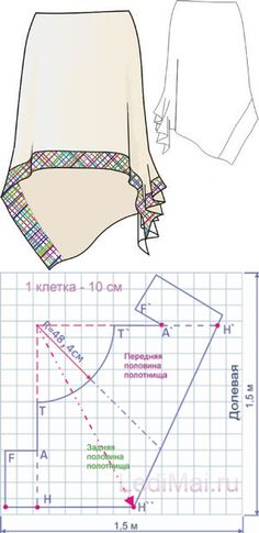 Sewing skirts patterns patrones new Ideas Sewing Dress, Skirt Patterns Sewing, Sewing Patterns Free, Sewing Clothes, Clothing Patterns, Sewing Tutorials, Pattern Skirt, Dress Tutorials, Coat Patterns