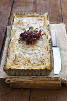 Ilse Fourie's Mediterranean Smoked Kipper Quiche - My Easy Cooking Kipper Recipes, Brunch Recipes, Seafood Recipes, Beaujolais Nouveau, French Tart, Good Food, Yummy Food, Big Meals, Gluten Free Breakfasts