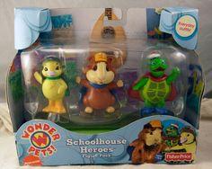 Fisher Price Wonder Pets Schoolhouse Heroes Figure Pack NIB