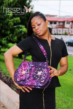 African Prints in Fashion: Get some attention: Bags by Hesey Designs