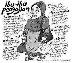 Mice Cartoon, #KomikJakarta: Ibu2 Pengajian