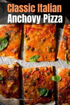 Italian Risotto Recipe, Italian Dinner Recipes, Risotto Recipes, Pizza Capers, Pizza Napoli, Italian Stew, Best Homemade Pizza, Pizza Recipes, Yummy Recipes