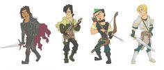 Total Drama Fantasy (boys) by Kikaigaku on DeviantArt