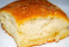 7UP Biscuits - 4 ingredients: Bisquick, sour cream, 7-up, and butter