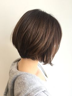 Pin on New Hairstyles 2020 Short Hair Back, Short Hair Dont Care, Korean Short Hair, Short Hair Cuts, Prom Hairstyles For Short Hair, Pretty Hairstyles, Shot Hair Styles, One Hair, Asian Hair