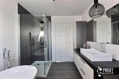 """If you wish to add a bathroom in your house but possess a limited budget, mind for that basement. """"A shower may be put within the basement without adding sq footage towards the exterio… Basement Furniture, Basement Flooring, Laundry In Bathroom, Basement Bathroom, Reno, Bathroom Styling, Bathtub, Interior Design, House Styles"""