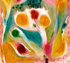 Paul Klee - Tropical Flower, 1920