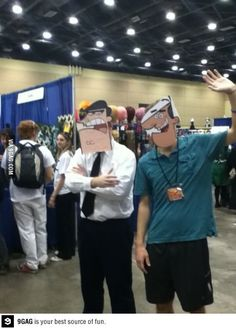 Best cosplay ever! turner vs dinkleberg