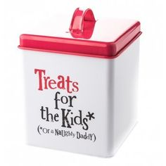 The Bright Side Treats for Kids Storage Tin
