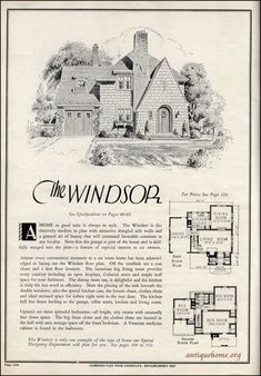 Love this exterior--would need just one more bedroom & bathroom. 1931 Gordon Van Tine | by Daily Bungalow