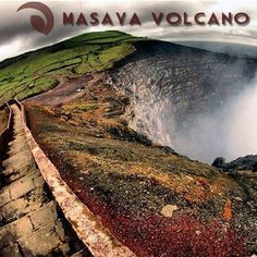 ‪ Masaya is a shield volcano located 20 km south of Managua, Nicaragua. It is Nicaragua's first and largest National Park, and one of 78 protected areas of Nicaragua. Nicaragua Managua, Cruise Excursions, Panama Canal, Vacation Destinations, South America, Perfect Place, National Parks, Atlantis, Volcanoes