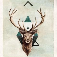 stag tattoo - Google Search