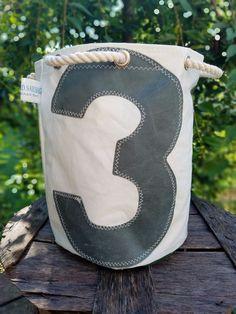 Windward Sailbags Recycled Sail Exclusive Bucket Cinch Tote #HandmadebyWindwardSailbags #BucketCinchTote