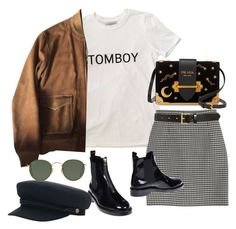 """Sem título #1423"" by oh-its-anna ❤ liked on Polyvore featuring Yves Saint Laurent, Tory Burch, Prada, Marni, Brixton and Ray-Ban"