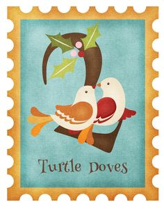 Twelve Days of Christmas: Twelve Days Of Christmas, Christmas Morning, Turtle Dove, Old And New Testament, Gods Plan, Epiphany, Christian Faith, Special Day, Needlepoint
