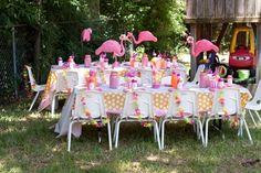 Flamingo party-emmas first bday