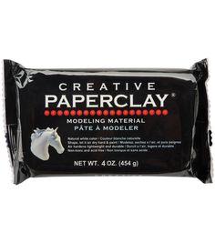 Creative Paperclay 4 Ounces-WhiteCreative Paperclay 4 Ounces-White,