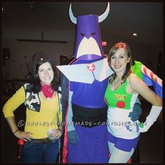 Toy Story Group Costume: Buzz, Woody, and Evil Emperor Zurg... 2014 Halloween Costume Contest