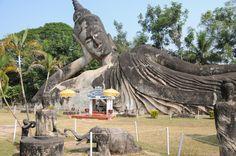 Le parc Boudha, près de Vientiane ©Salaün Holidays