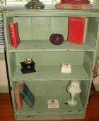Small Green Bookshelf