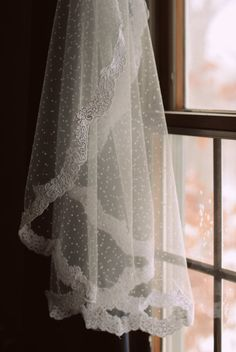 Items similar to Kristin - Swiss Dot Mantilla Veil with Scalloped Alencon Lace on Etsy Polka Dot Curtains, Wedding Veils, Wedding Dresses, Mantilla Veil, Polka Dot Wedding, White Tulle, Swiss Dot, Wedding Inspiration, Wedding Ideas