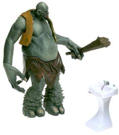 Harry Potter Mountain Troll Deluxe Action Figure by Harry Potter Warner Brothers Sorcerers Stone @ niftywarehouse.com #NiftyWarehouse #HarryPotter #Wizards #Books #Movies #Sorcerer #Wizard